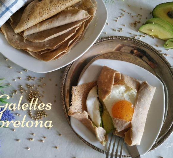 Galette bretona sin gluten