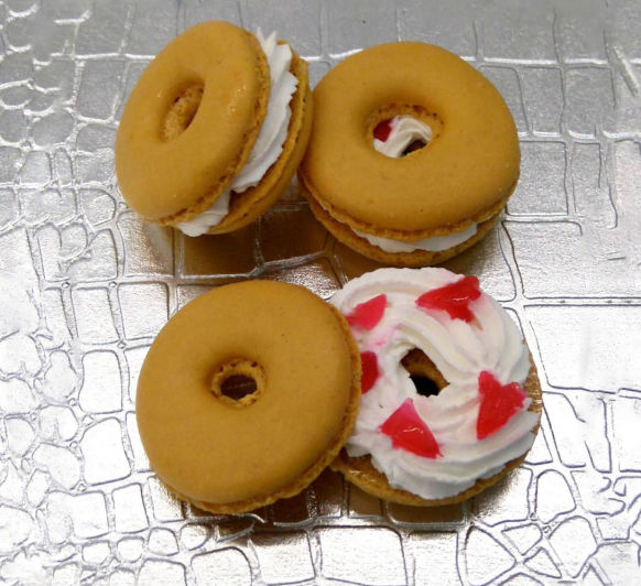 Macarons de Roscón de Reyes