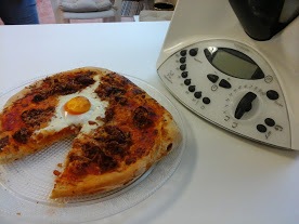 Pizza Aragonesa con Thermomix®