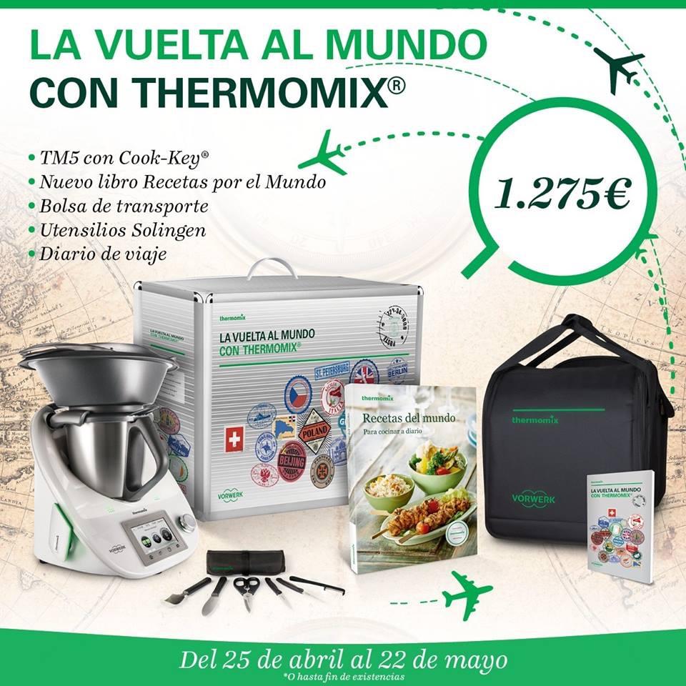 VUELTA AL MUNDO CON Thermomix® ..PARA TODO EL MUNDO!