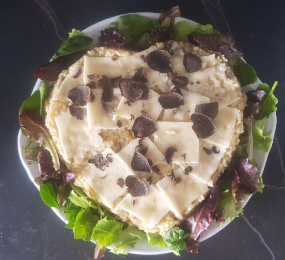 Un San Valentín con foie y trufas