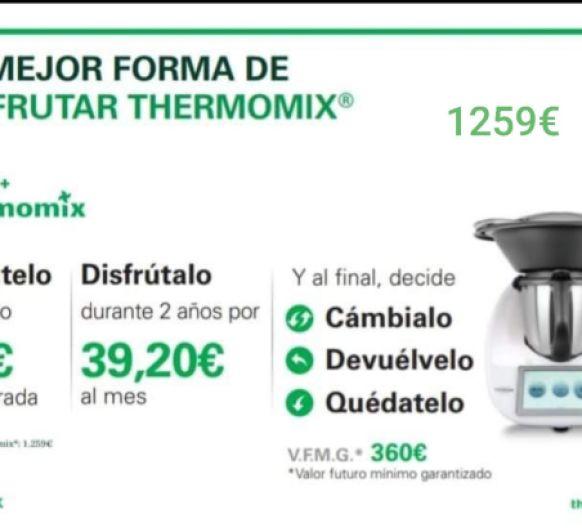 Precio Thermomix® ??? 1259€ solo tres días más !!!