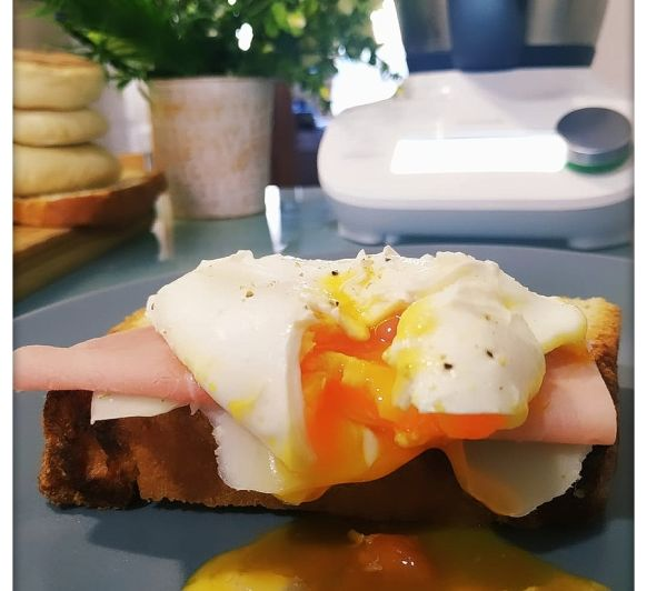 Huevos poché en el Thermomix® friend