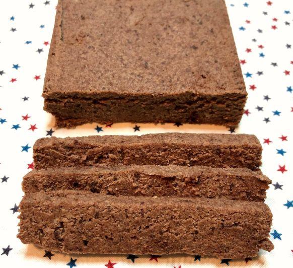 Turrón de Bizcocho de Chocolate y Dulce de Leche