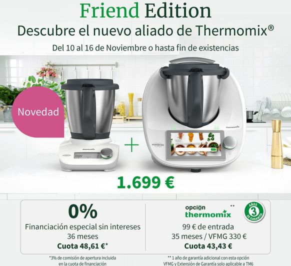 Thermomix® FRIEND EDITION ( UNIDADES LIMITADAS)