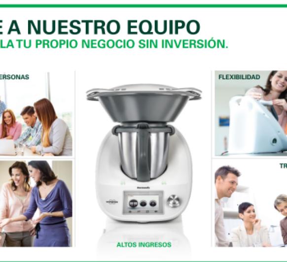 FORMA PARTE DEL EQUIPO Thermomix®