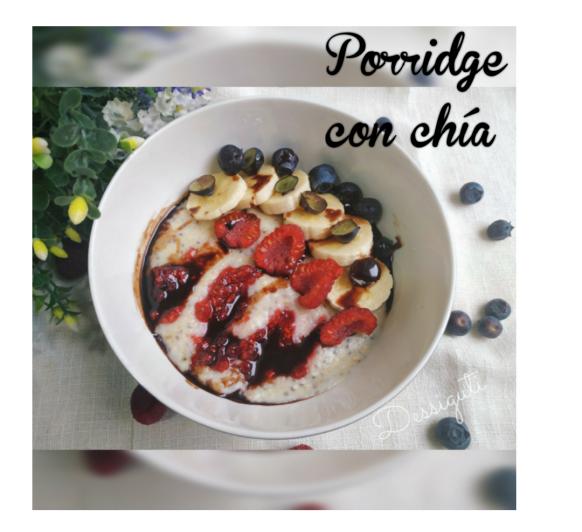 Porridge con chía