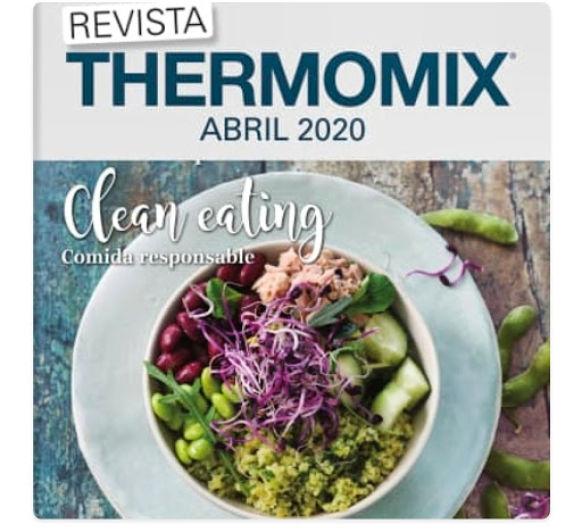 ¡Ya está aquí! Thermomix® Magazine de abril...para comérsela