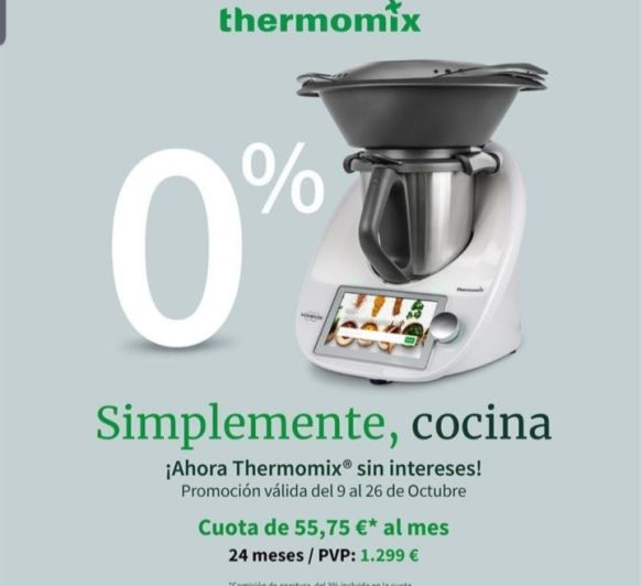 Thermomix® (r) sin intereses.