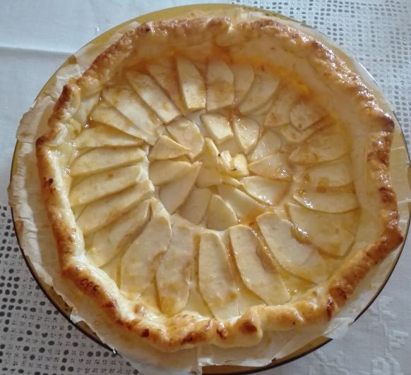 Tarta de manzana rapidisima