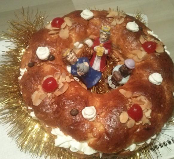 Roscón de Reyes ''SIN GLUTEN''