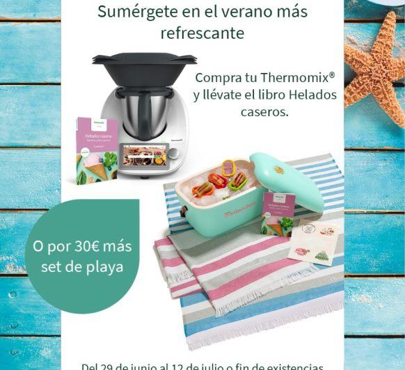 Quítate las ganas y disfruta del verano con Thermomix® . TM6 Edición Verano.
