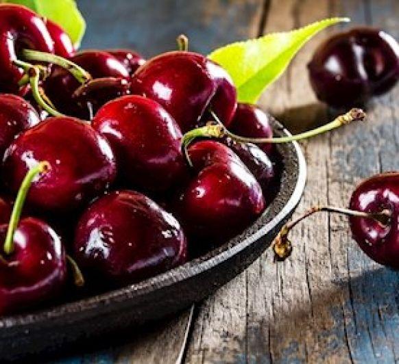Época de cerezas. A disfrutarlas!!!