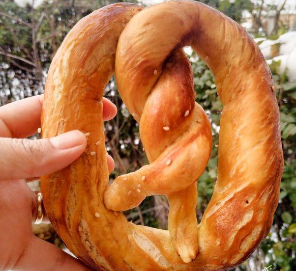 Bretzel o panecillos alemanes
