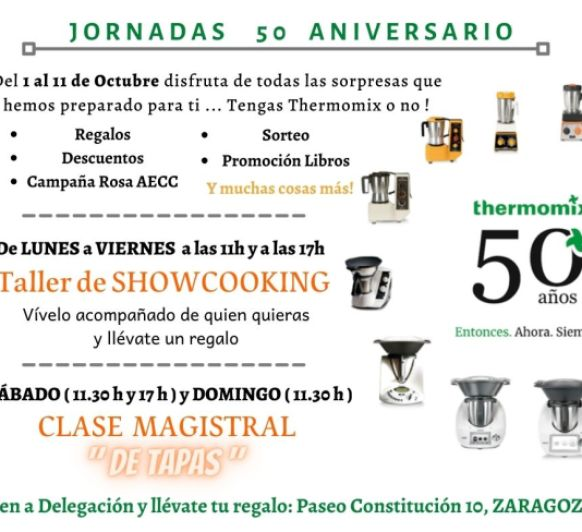 JORNADAS 50 ANIVERSARIO EN ZARAGOZA