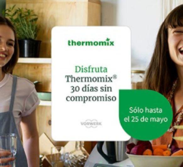 últimos días ! Disfruta 30 días de Thermomix® + tarjeta regalo 50 €