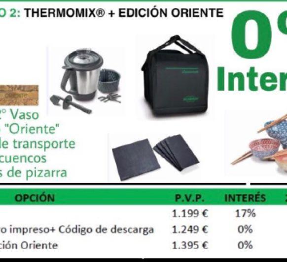 Thermomix® ......EDICION ORIENTE + 0% !