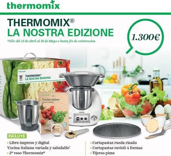''La Nostra Edizione'' La nueva edición de Thermomix® .