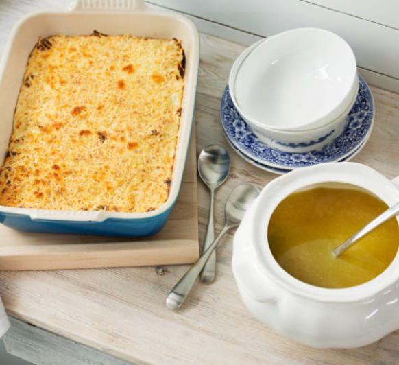 MeQuedoEnCasa, hoy :: Menú Sopa de Fideos