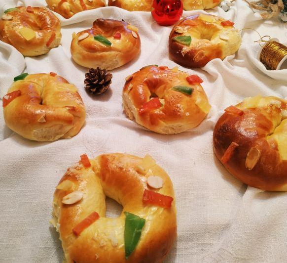 Miniroscones de Reyes