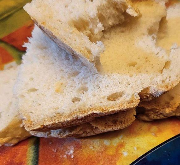 Pan sin gluten. Fácil, rápido y rico.